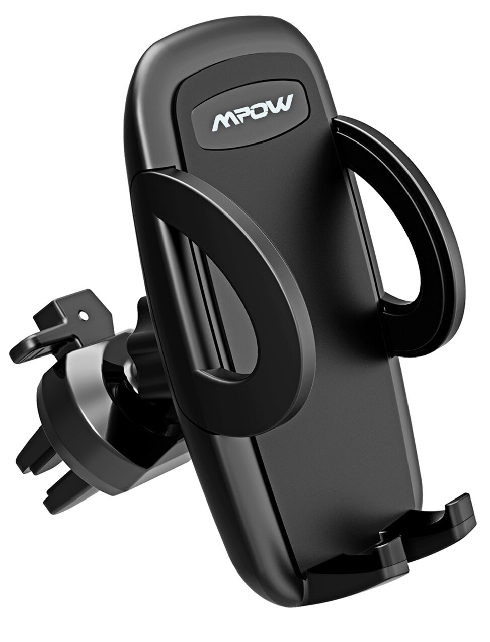Hdc236c3e76fb448aa97641b4d7ad8245J - Mpow Air Vent Car Mount Holder Universal Cell Phone Cradle 3-level Adjustable Clamp Mobile Phone Stand Cradle For iPhone X/8/7/6