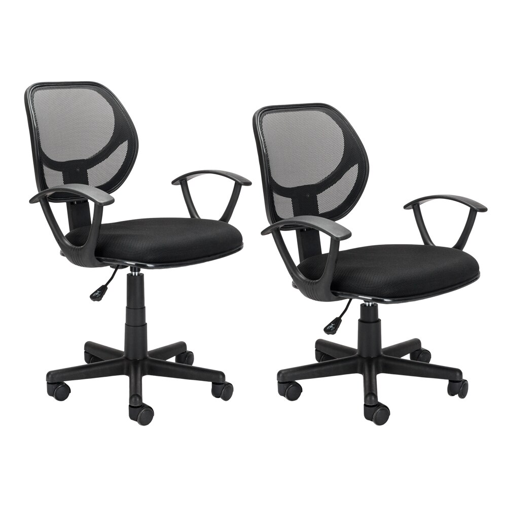 He1ebc305a943415d96226ef10a6d166eI - Home Office Chair Household Armchair Lift and Swivel Function Office Computer Study Chair Leisure Mesh Chair-Reclining
