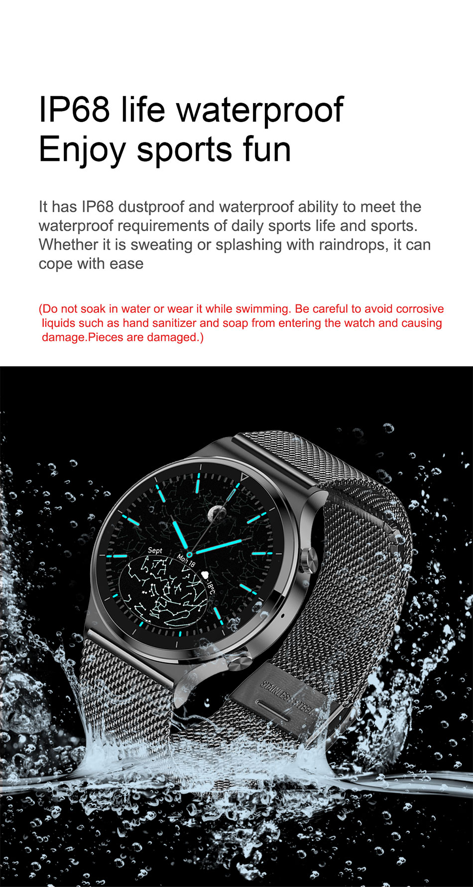 He2c10ca990894421ad07968eaab08aa1R - LIGE New Smart watch Men Heart rate Blood pressure Full touch screen sports Fitness watch Bluetooth for Android iOS smart watch