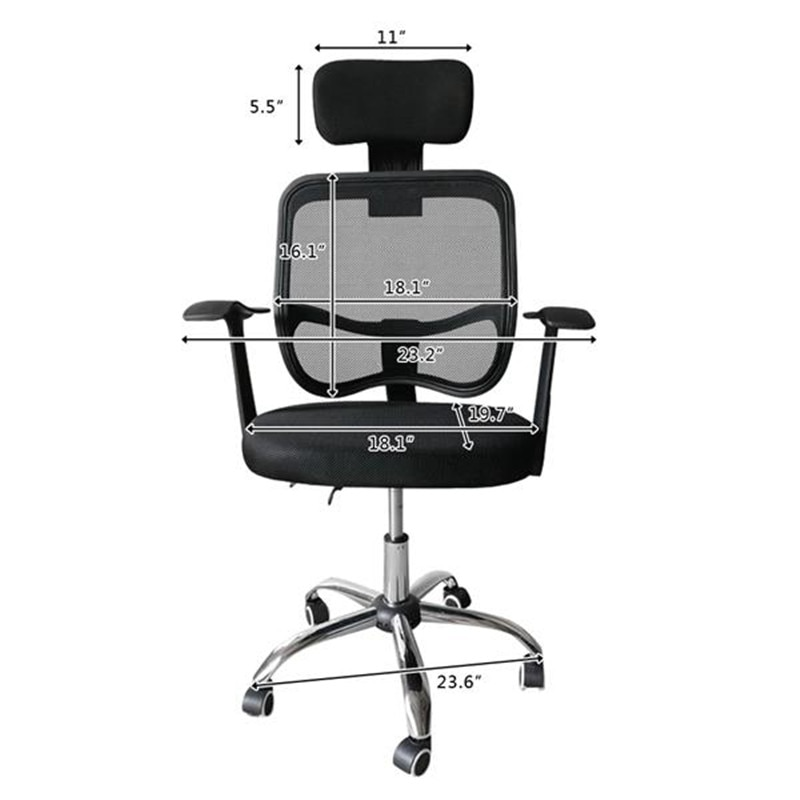 He355e2ad520141d596a5414aeb25ef52g - Home Office Chairs Household Armchairs Office Desks Computer Study Chair Leisure Mesh Chair-Reclining Home Office Furniture