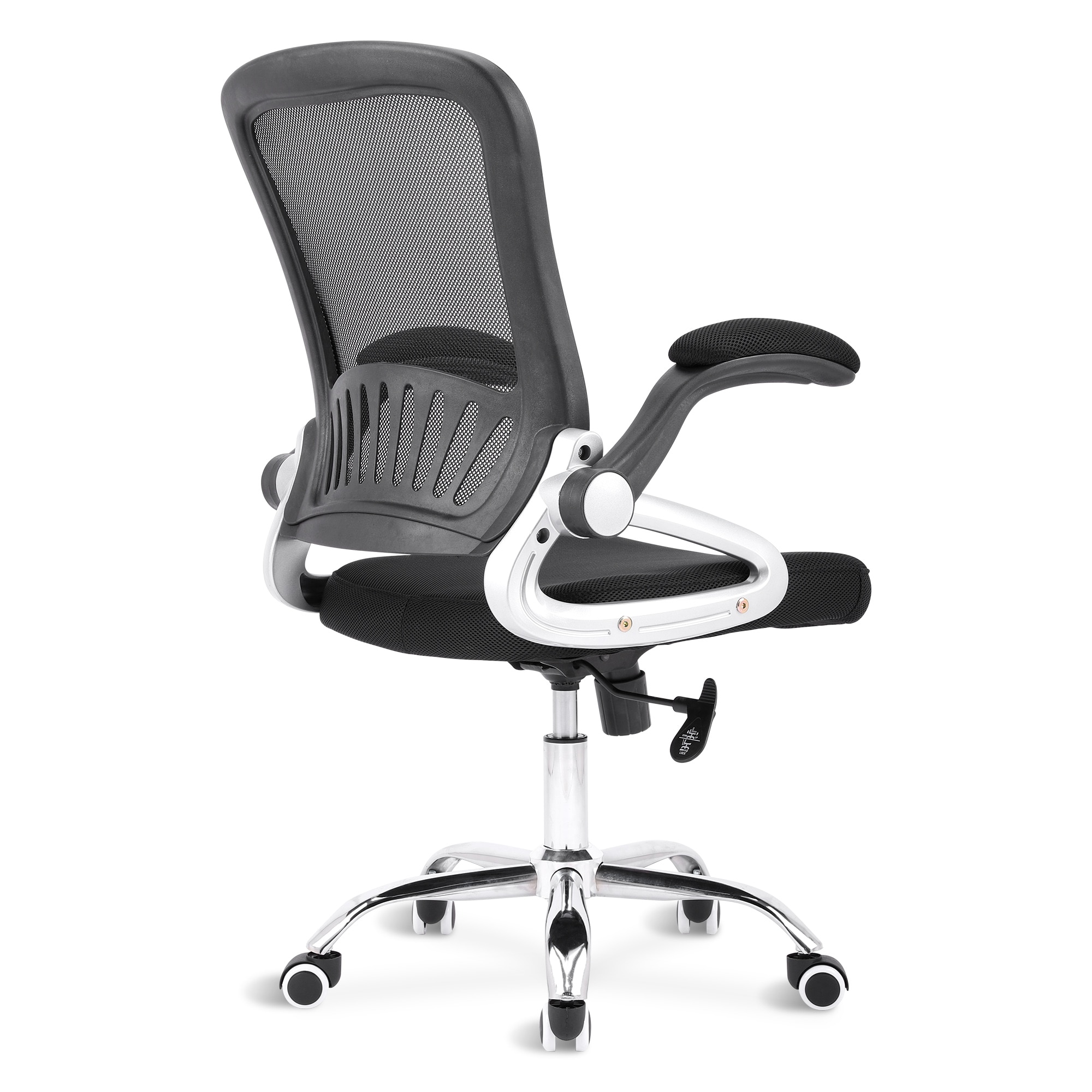 He4bfe080056b43f6b2bfd482da7f9a93M - Sigtua Swivel Office Chair Height-adjustable Desk Chair Breathable PC Chair Comfortable Ergonomic Executive Computer Chair Black