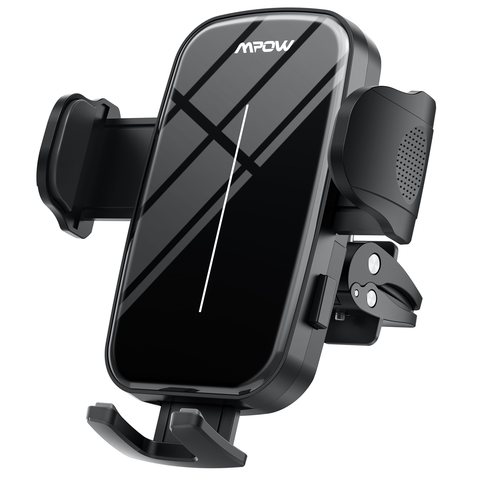 He5e4658e2ba64510a3637cb57805a4c0A - Mpow CA174 Universal Car Phone Mount Air Vent Car Phone Holder with Stable Clip Compatible with iPhone 12 11 Pro Max XS 8 Galaxy