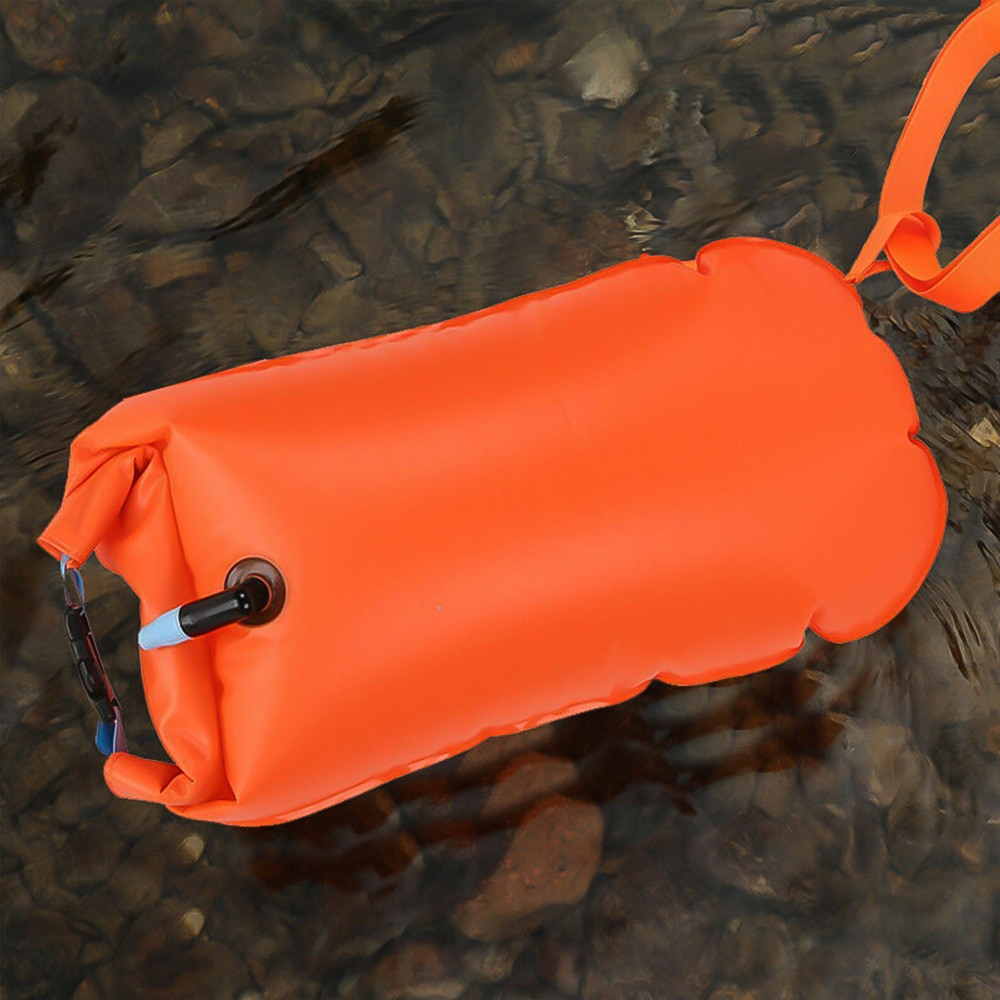 He8c6c466fe994d65959fc1b7bd16d6feb - 1pc Float Swimming Bag Floating Inflated Buoy Air Dry Bag Safety Storage Bag with Waist Belt for Rescue Swimming Water Sport