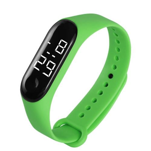 Hec51b07f9e3c4483a2a6b507c5e70c3dY - M3 Led Wristwatch Fitness Color Screen Smart Sport Bracelet Activity Running Tracker Heart Rate for Men Women Silicone Watch