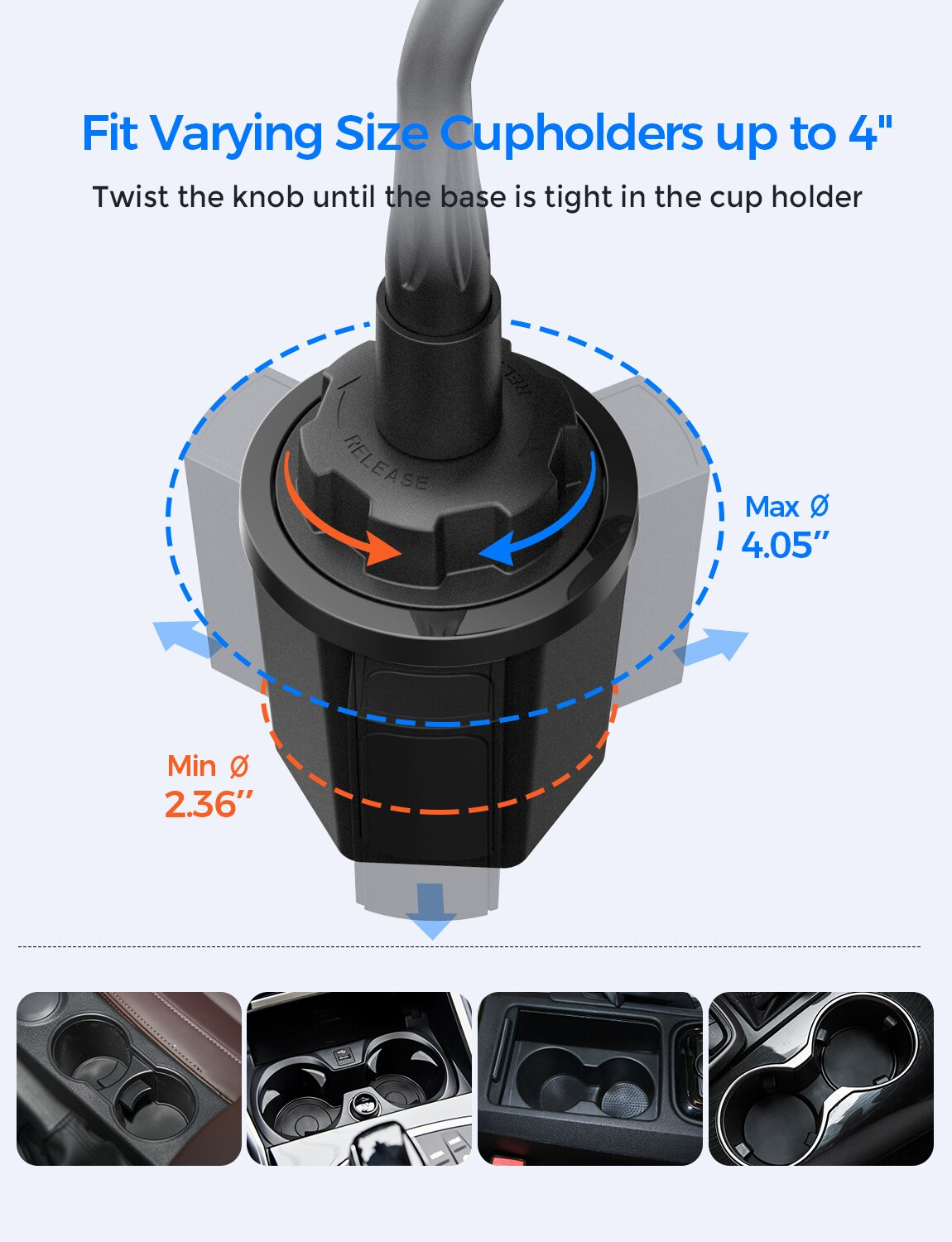 Hef9b171543cb43e8a2f653f2149bc7a1e - Mpow CA136 Car Phone Holder 360 Degree Flexible Long Arm and Adjustable Clamp Universal Phone Cradle Mount for For iPhone 12 XS