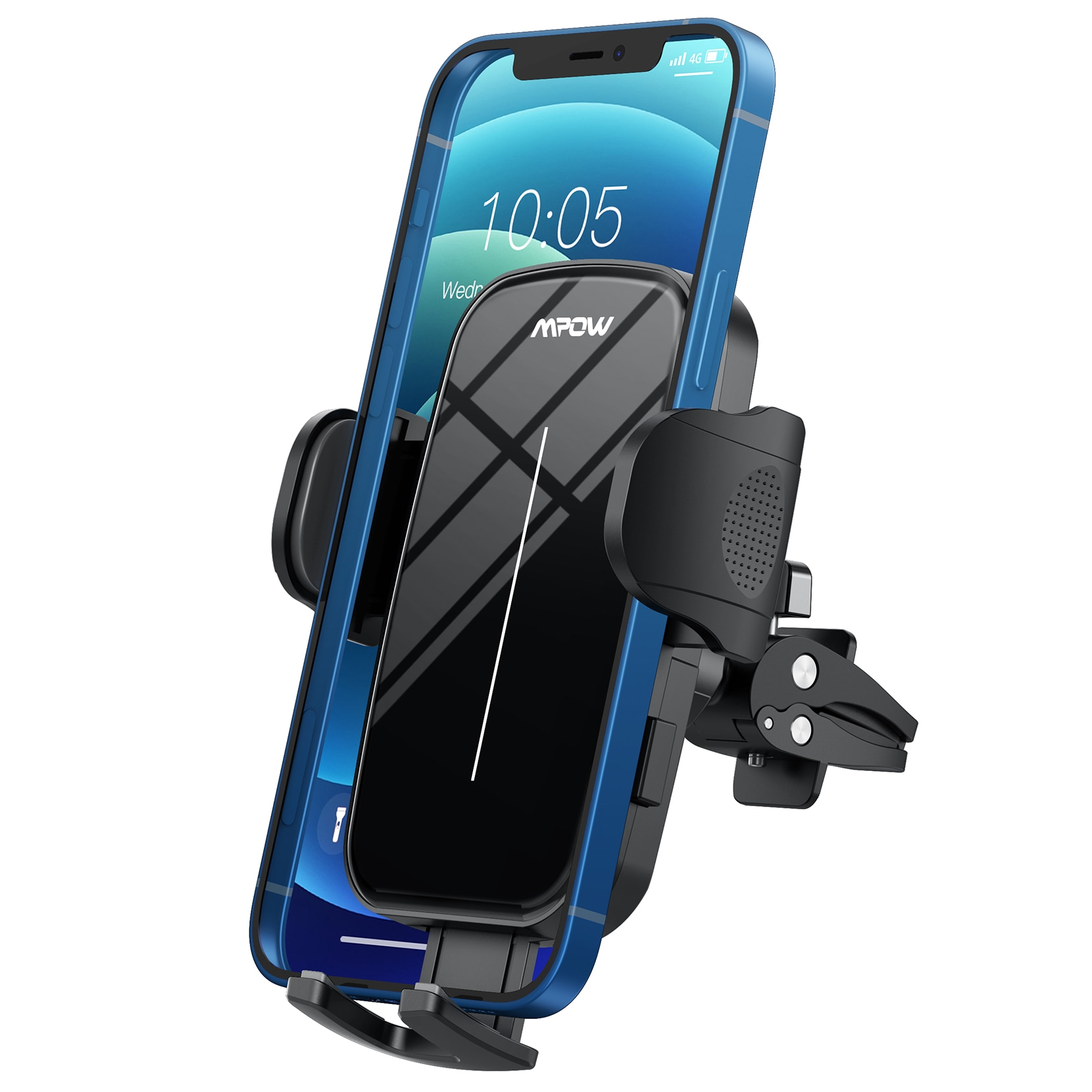 Hf05615d60f2340bd87e956d1c656222e0 - Mpow CA174 Universal Car Phone Mount Air Vent Car Phone Holder with Stable Clip Compatible with iPhone 12 11 Pro Max XS 8 Galaxy