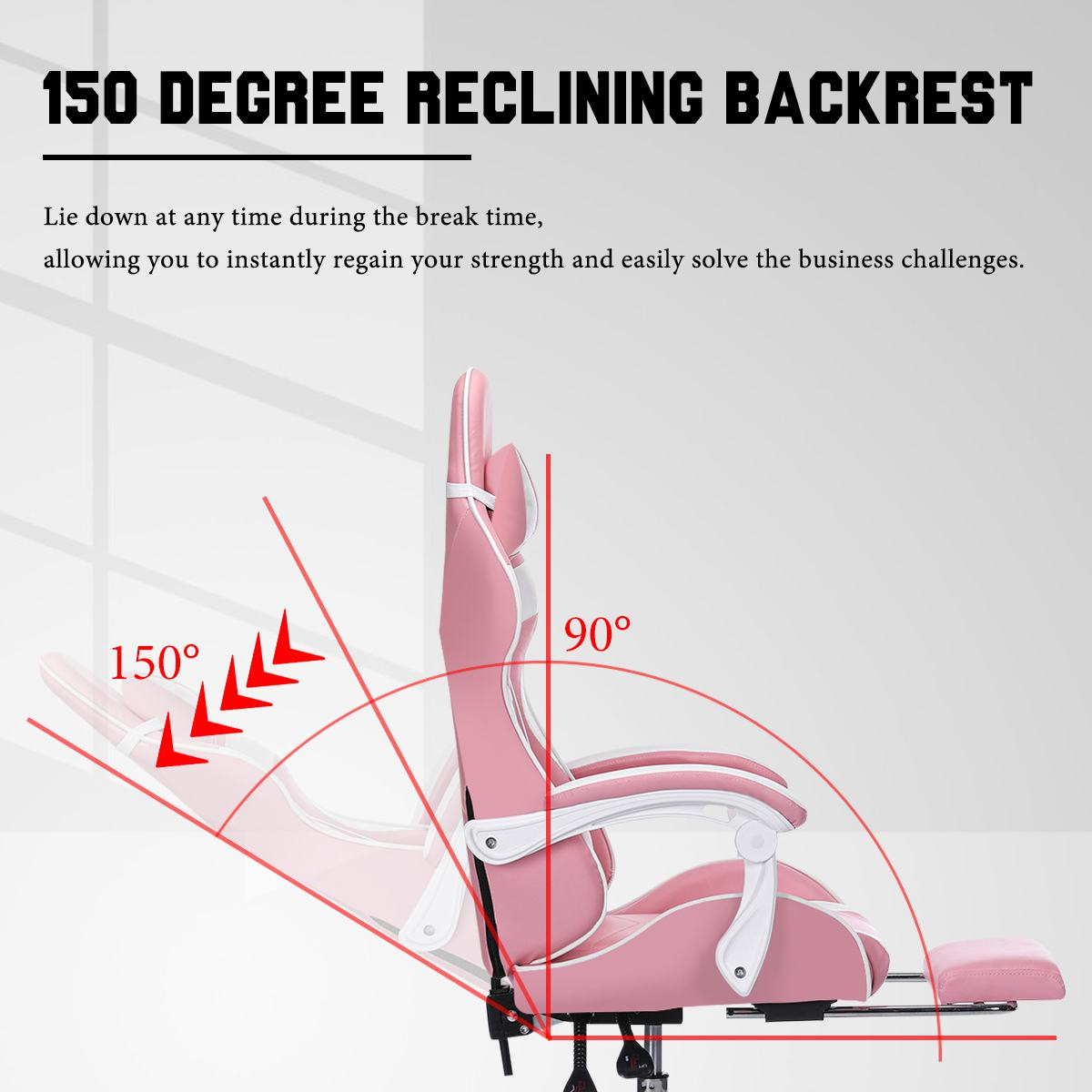 Hf237c8b685424590895a0efc5b9af8ffo - Office Computer Chair WCG Gaming Chair Pink Silla Leather Desk Chair Internet Cafe Gamer Chair Household Armchair Office Chair