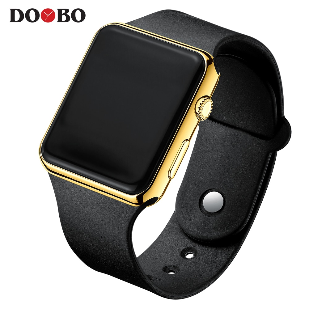 Hf4308e4a49fb4b4d94483c6b35a21c73u - Fashion Men Watch Women Casual Sports Bracelet Watches White LED Electronic Digital Candy Color Silicone Wrist Watch Children