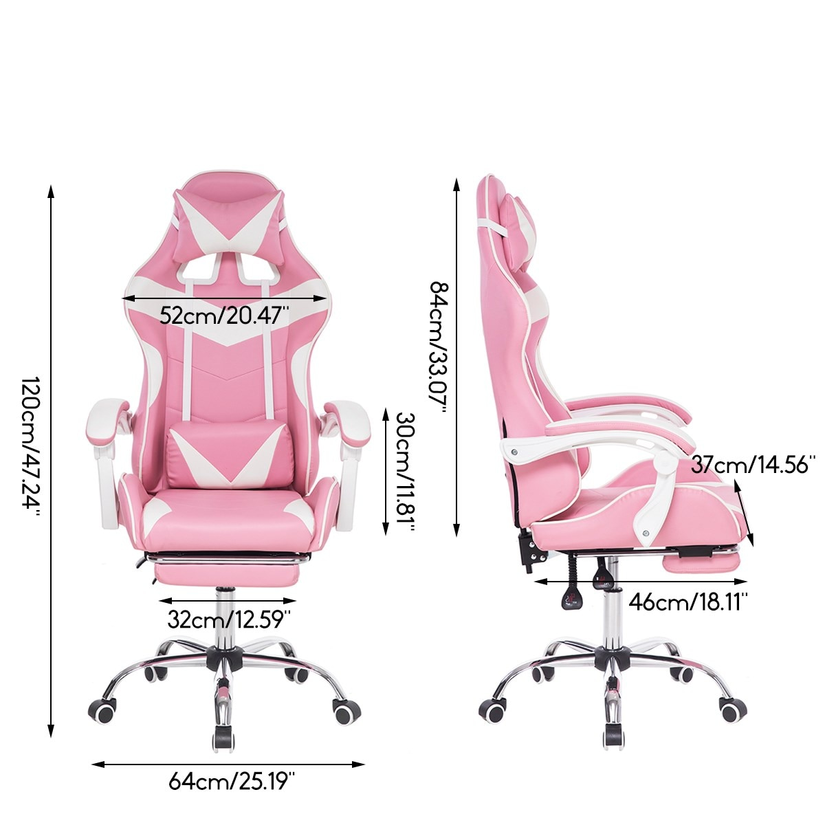 Hf4a8786a65a845c5a6dfe1229eebafcaa - Office Computer Chair WCG Gaming Chair Pink Silla Leather Desk Chair Internet Cafe Gamer Chair Household Armchair Office Chair