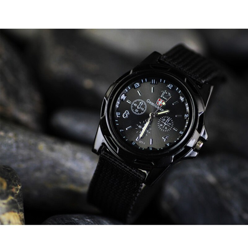 Hf51e4f3577c64cf0a14b517d61dd3967A - Men Army Watch Nylon Military Male Quartz Watches Fabric Canvas Strap Casual Cool Men's Sport Round Dial Relogios Wristwatch