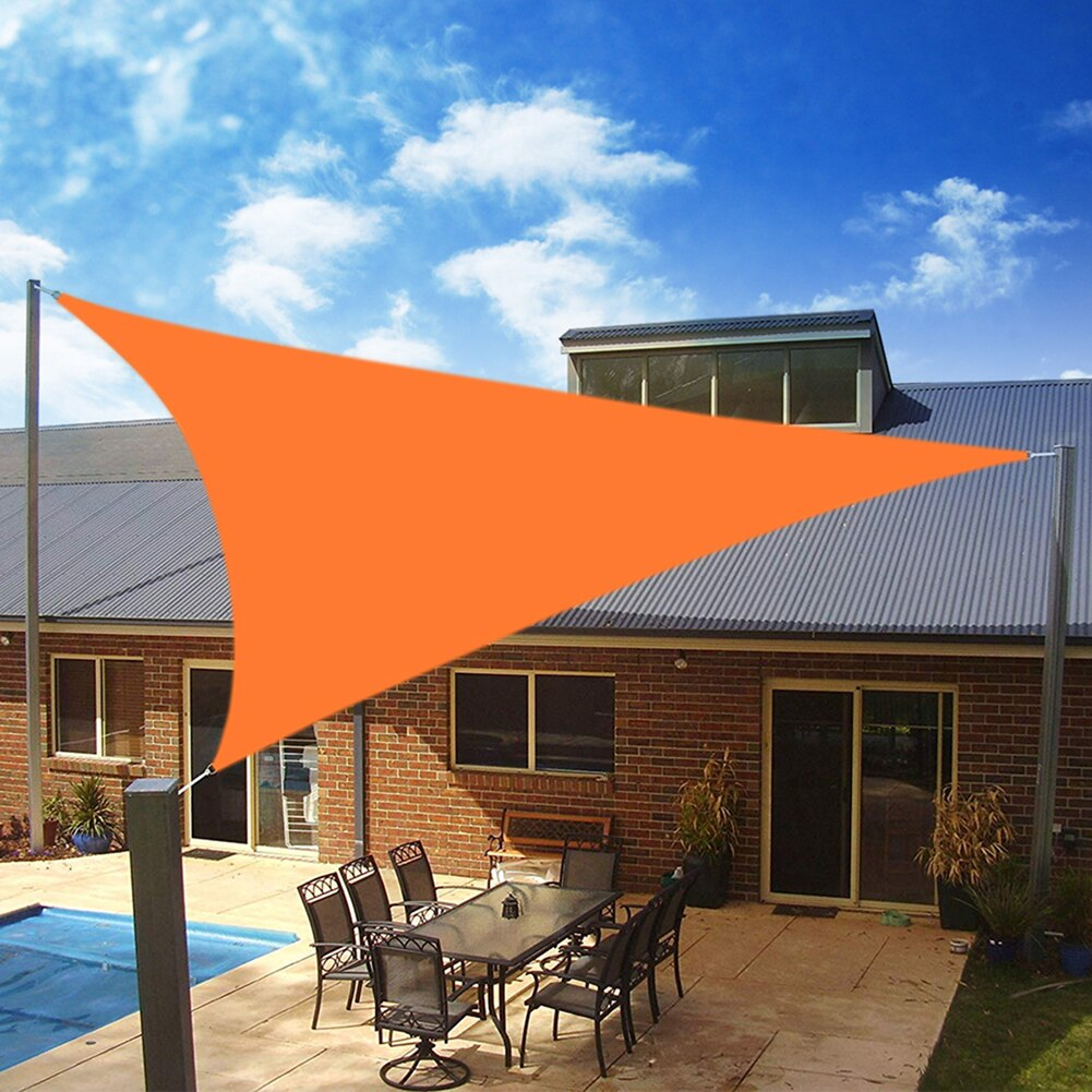 Hf623a0e7c7174b8cb07edc92ccc40216N - Waterproof Oxford Rectangle Triangle Shade Sail Garden Canopy Swimming Sun Shelter Outdoor Camping Yard Sail Awnings 2M/3M/4M/5M