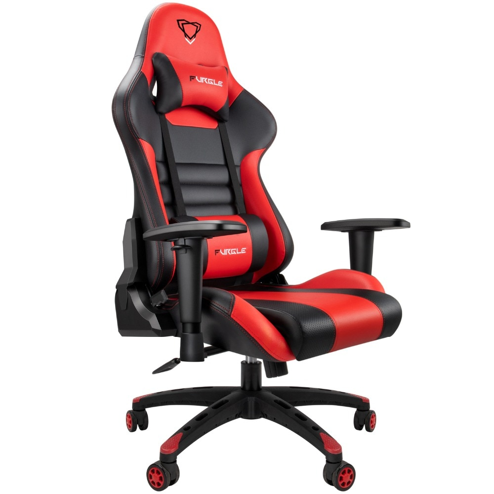 Hfd6b44d1b93a4ffc93b78b2a610d2e9dA - Furgle Gaming Office Chairs 180 Degree Reclining Computer Chair Comfortable Executive Computer Seating Racer Recliner PU Leather