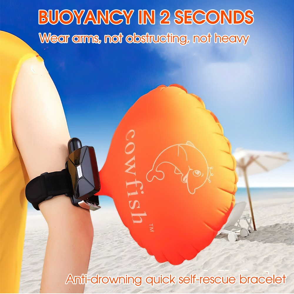 Ud337bd533f0b4670b366868329f5e0c7i - 2021 Anti-Drowning Wristband Lifesaving Bracelet Float With Co2 Cylinder Inflatable Bladder Outdoor Swim Surf Self Rescue Device
