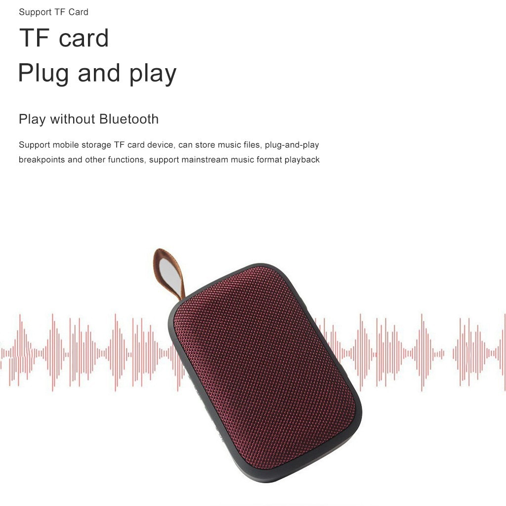 H06ccea171d484ffcaea8c09484885c705 - Wireless Mini Speaker Portable Wireless Bluetooth Stereo Tf Card Fm Speaker For Smartphone Tablet Mp3 Player Subwoofer In Stock