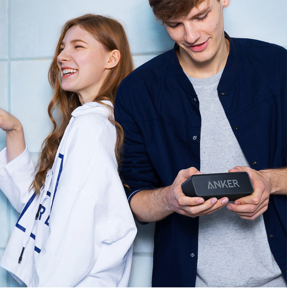 H09e833269a6e4bf4b7bc10da48bf4578b - Anker Soundcore Portable Wireless Bluetooth Speaker with Dual-Driver Rich Bass 24h Playtime 66 ft Bluetooth Range & Built-in Mic