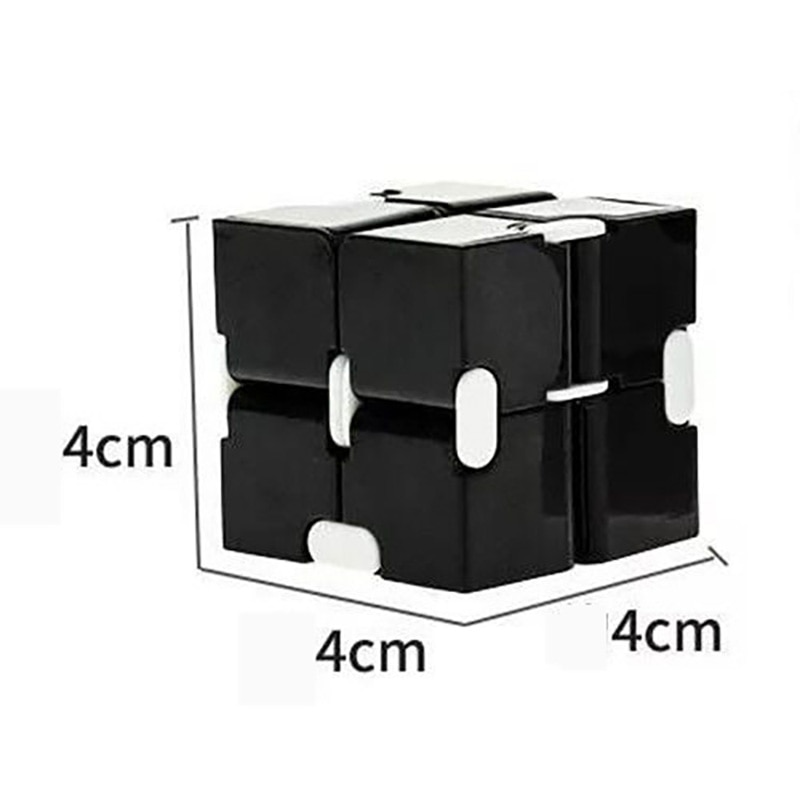 H0bbf7b0bf05a45a9a56332b111cdebecN - Fingertip Cube Macaron Unlimited Maze Decompression Artifact Stress Relief Rotating Exercise Creative Venting Toy For Baby Adult