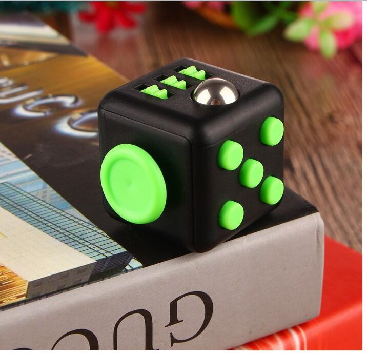 H0c1dc4c2bd2647bfb771e939081943c8w - Squeeze Stress Reliever Gifts Cube Relieves Anxiety and Stress Juguet For Adults Children cube Desk Spin Fidget Toys