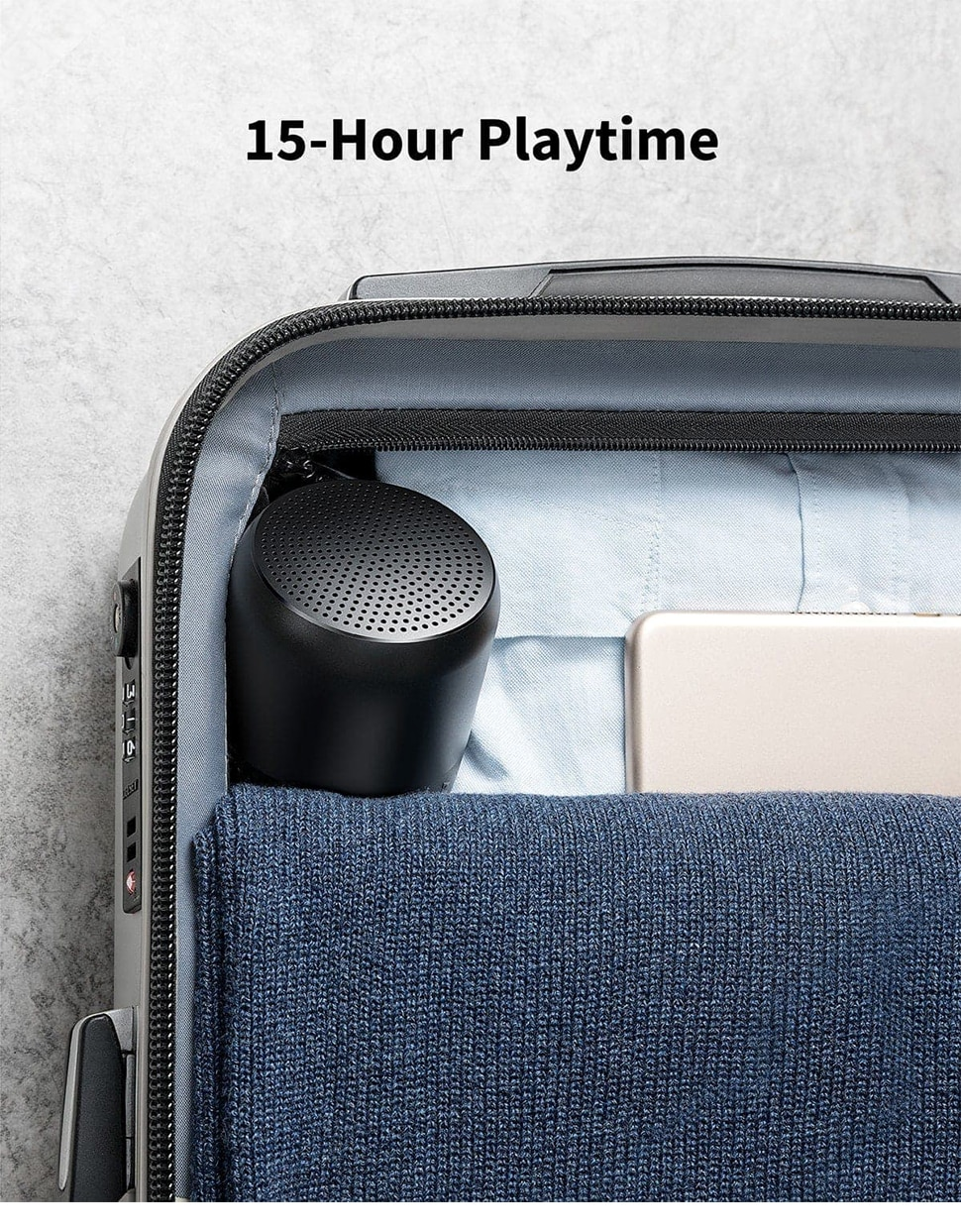 H12748ebeaf3d41f3987dce9215e2c9a5G - Anker Soundcore Mini 2 Pocket Bluetooth IPX7 Waterproof Outdoor Speaker Powerful Sound with Enhanced Bass 15H Playtime