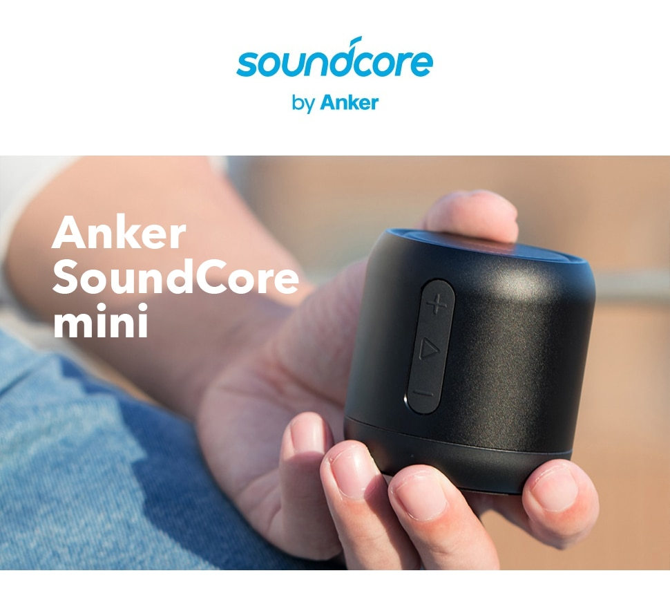 H13b8217ae93c491e960d5ff9e213b7971 - Anker Soundcore mini, Super-Portable Bluetooth Speaker with 15-Hour Playtime, 66-Foot Bluetooth Range, Enhanced Bass Microphone