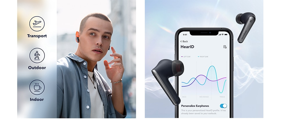 H1416d97df74d40a898fc2f796325a3e3P - Anker Soundcore Liberty Air 2 Pro True Wireless Earbuds, Targeted Active Noise Cancelling, PureNote Technology, 6 Mics for Calls