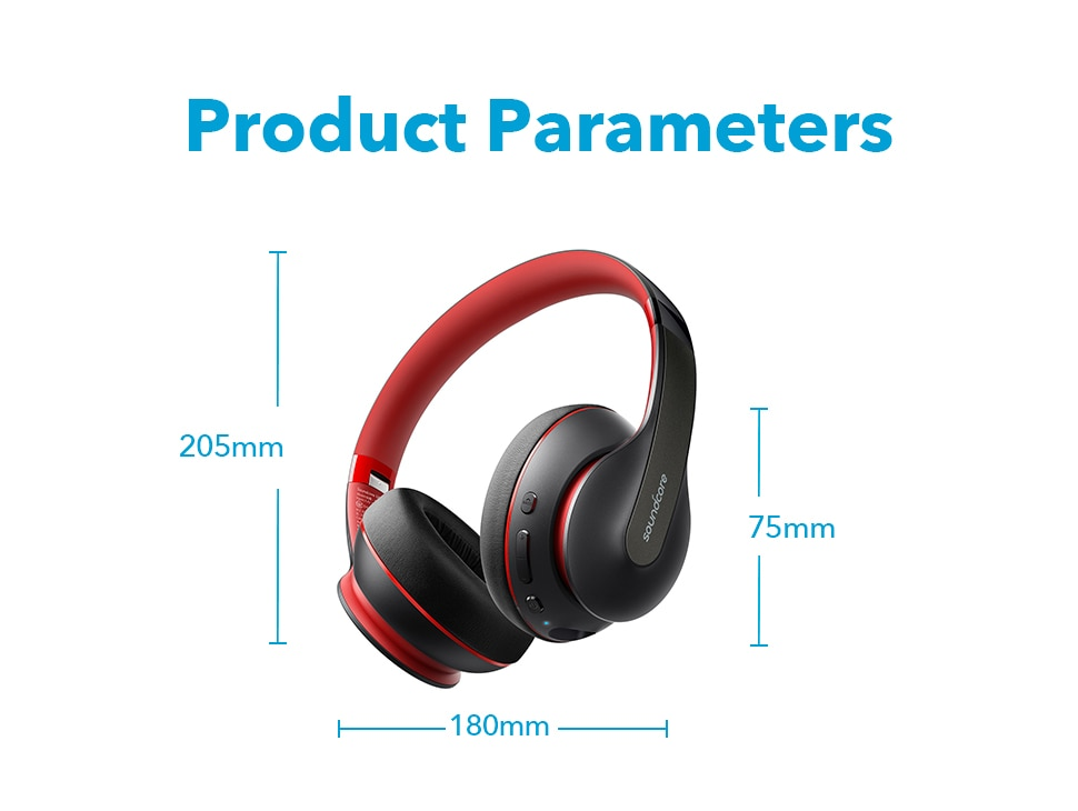 H14fcda5613b54eba8c222d2a73181837g - Anker Soundcore Life Q10 Wireless Bluetooth Headphones, Over Ear and Foldable, Hi-Res Certified Sound, 60-Hour Playtime