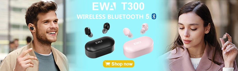 H1cc989049ff249d98c2a55af4294a2c8K - EWA Bluetooth Speaker IP67 Waterproof Mini Wireless Portable Speakers A106Pro Column with Case Bass Radiator for Outdoors Home