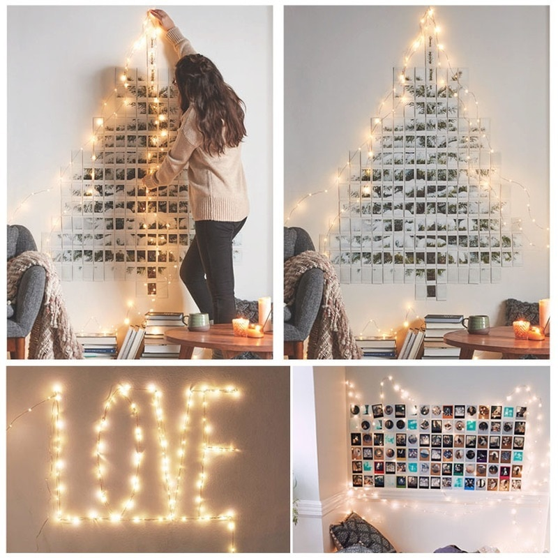 H1f08dc7e1d0c4602952978d37b300fdfa - 2/5/10/20M USB LED String Lights Copper Silver Wire Garland Light Waterproof Fairy Lights For Christmas Wedding Party Decoration