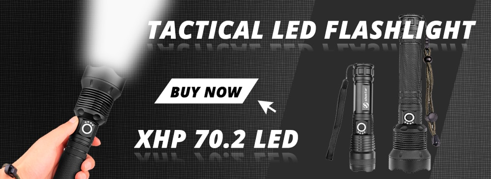 H25e91d2f2e6445adb7626c3c3c11eef07 - Ultra Bright LED Flashlight With XP-L V6 LED lamp beads Waterproof Torch Zoomable 4 lighting modes Multi-function USB charging
