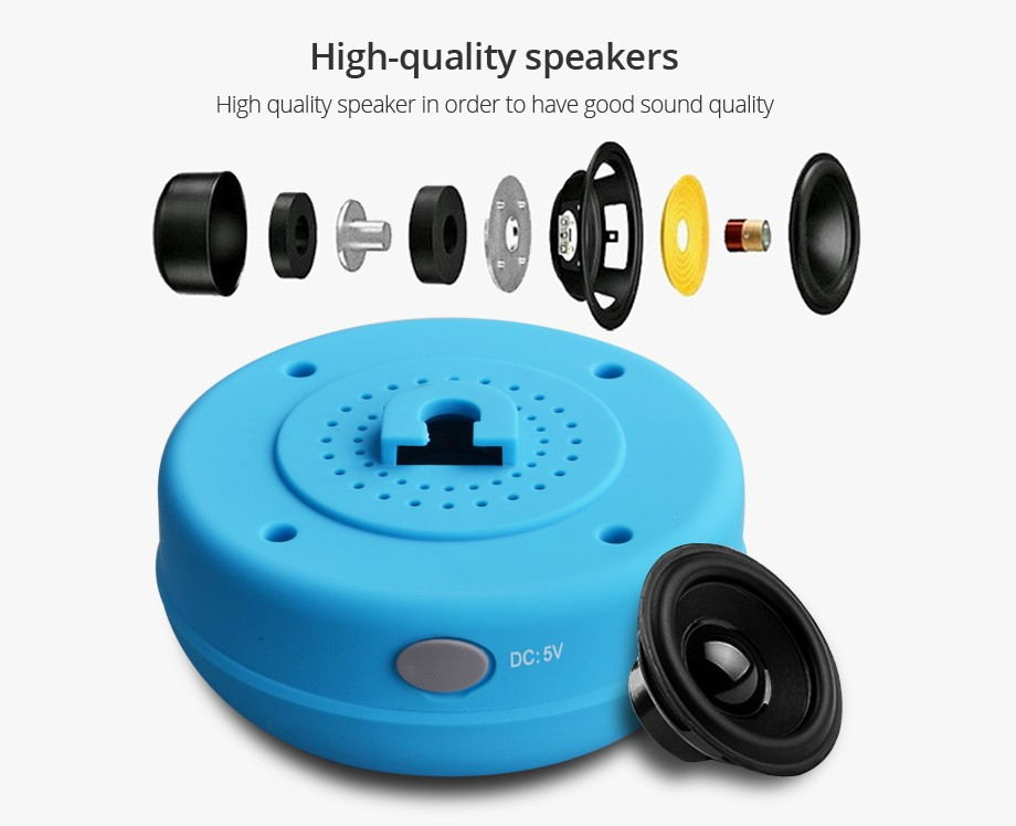 H30c4d86f5ad34486bd064667babed702e - Mini Bluetooth Speaker Portable Waterproof Wireless Handsfree Speakers Built-in Mic For Showers Bathroom Pool Car Beach Outdoor