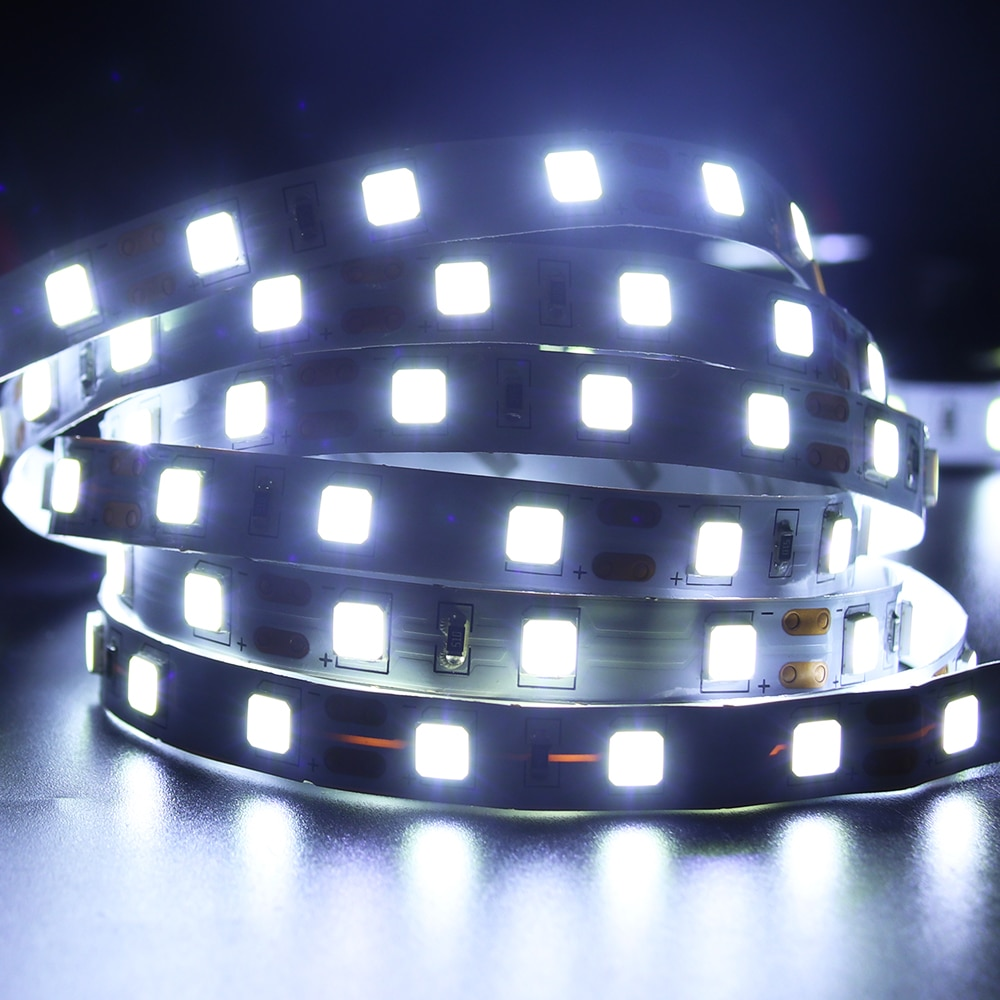 H37706c31c06d4137b31c2d95417b3959I - 5M LED Strip Light 5054 5050 SMD 120led 60LED 240LED 2835 5630 12V DC Waterproof Flexible LED Tape for Home Decoration 10 Colors