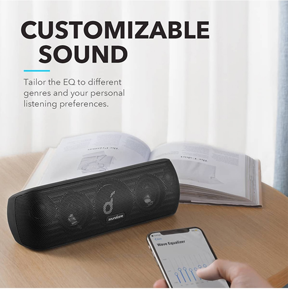 H3778e63b00a4452394d768449f7f433bo - Anker Soundcore Motion Bluetooth Speaker with Hi-Res 30W Audio, Extended Bass and Treble, Wireless HiFi Portable Speaker