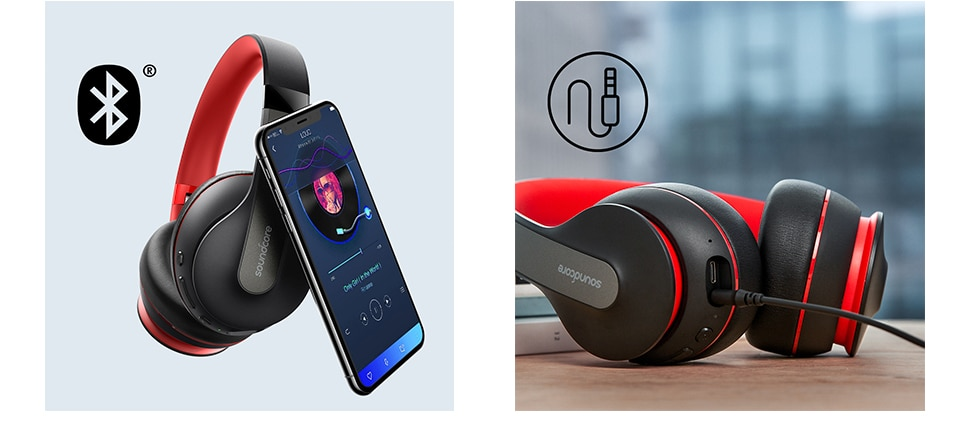 H37f601c8944348fe9d2092e5c62c487dh - Anker Soundcore Life Q10 Wireless Bluetooth Headphones, Over Ear and Foldable, Hi-Res Certified Sound, 60-Hour Playtime
