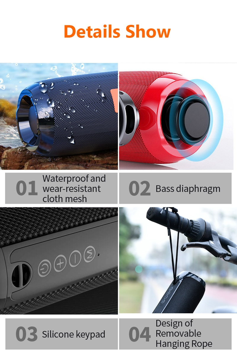 H3bc57f26900141048ee51e002dcc5287s - Portable Bluetooth Speaker Wireless Bass Subwoofer Waterproof Outdoor Speakers Boombox AUX TF USB Stereo Loudspeaker Music Box