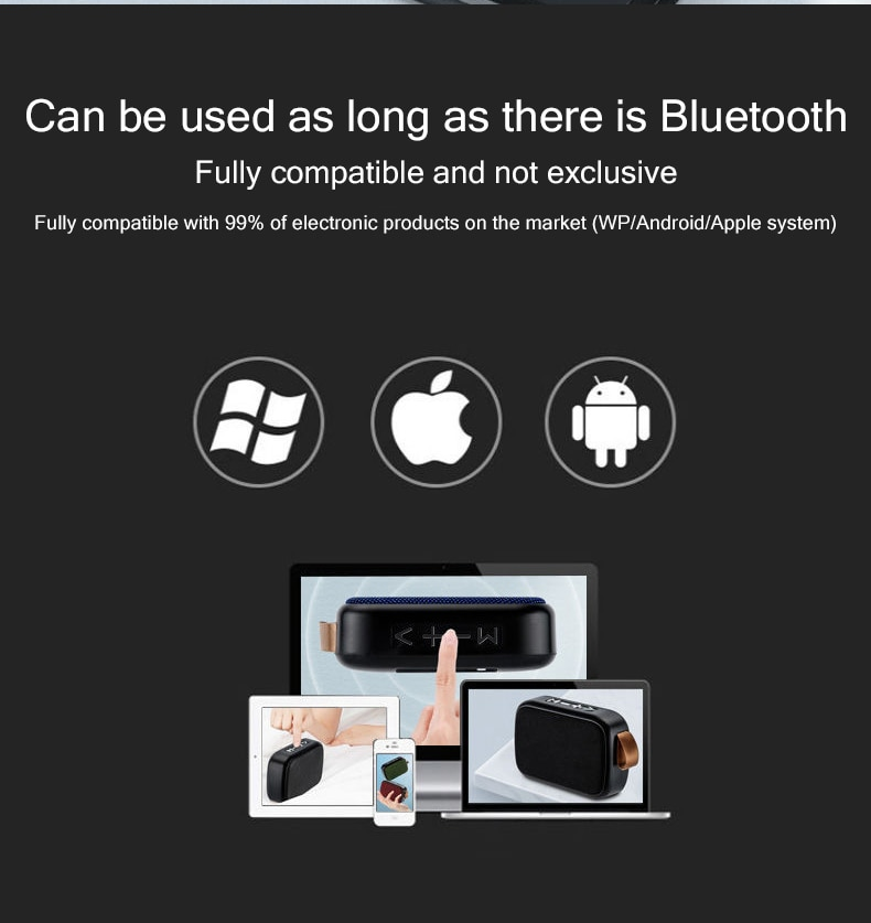 H3d0233f301a14107bca18cf1f6022295c - B02 Wireless Bluetooth Speaker Mini Subwoofer Support TF Card Small Radio Player Outdoor Portable Sports Audio Support 16GB