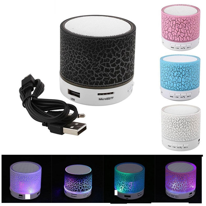 H3e1306a3674f4e108445627de40c99c8h - Mini LED Portable Speakers Wireless Speaker With TF Mic Bluetooth-compatible Music For Phone