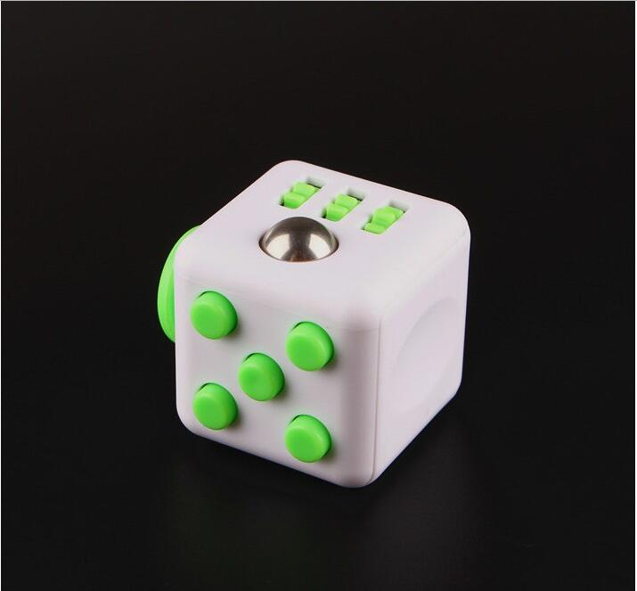 H3ff506e2b55f4c20aeb3464ac89708d4g - Squeeze Stress Reliever Gifts Cube Relieves Anxiety and Stress Juguet For Adults Children cube Desk Spin Fidget Toys