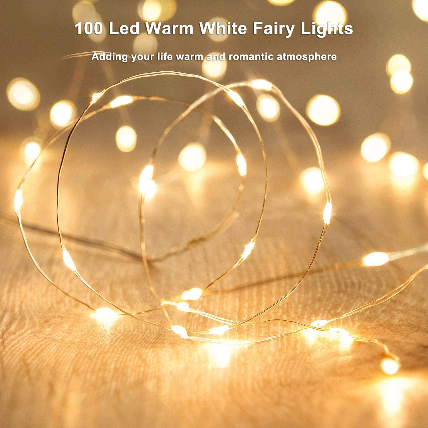 H3ff61b4ca5db418eb28e32b00b0a6fd1F - Led Fairy Lights Copper Wire String 1/2/5/10M Holiday Outdoor Lamp Garland Luces For Christmas Tree Wedding Party Decoration