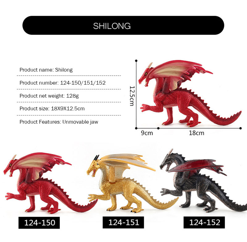 H434457a88f7d4d28875ee5a5259670c2y - Simulation Dinosaur Figures Toys Children Plastic Flying Dragon Dinosaur Toys Kids Collection Model For Boys Birthday Gift
