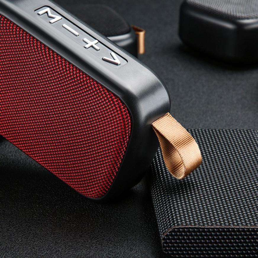 H44e839567e574c358ad55b1c2fbb4b88C - G2 New Wireless Fabric Bluetooth Speaker Small Portable Cannon Mini Voice Broadcast The Card Instert Vehicular Audio System