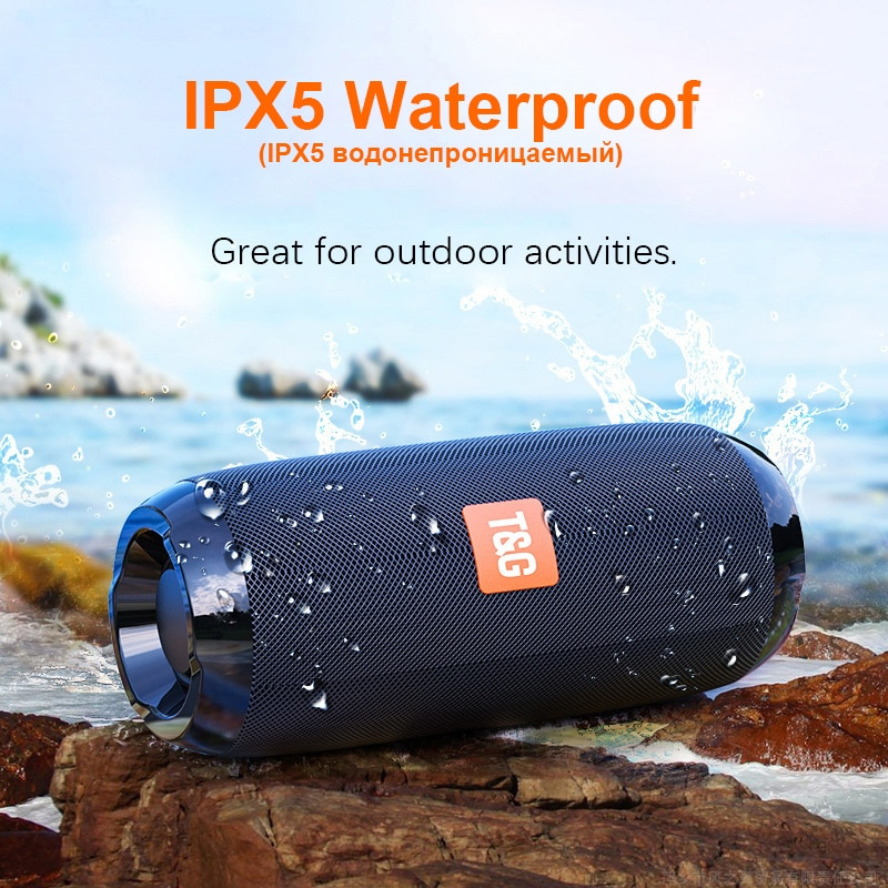 H4b4fc316a77c491a90a012bb5dee5263P - Portable Bluetooth Speaker Wireless Bass Subwoofer Waterproof Outdoor Speakers Boombox AUX TF USB Stereo Loudspeaker Music Box