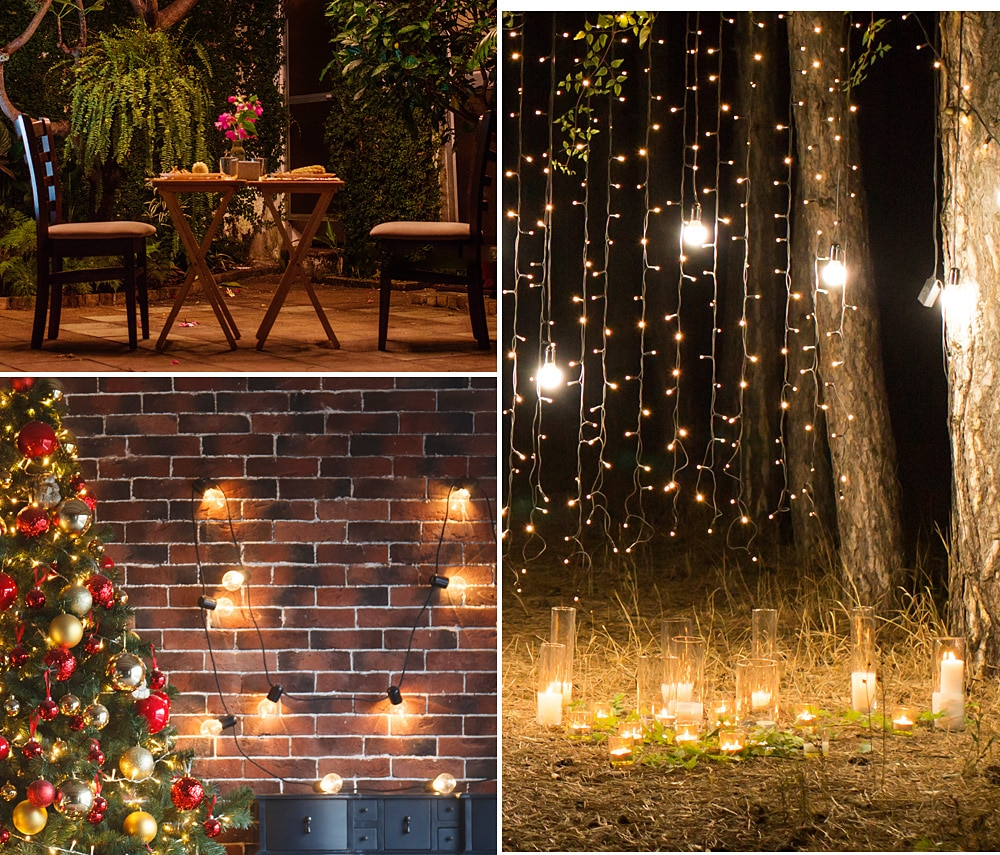 H52c118aa6fb449528ac82fefe71709a9c - Outdoor Garland Street LED G50 Bulb Solar Energy String Light As Christmas Decoration Lamp For Home Indoor Holiday Lighting