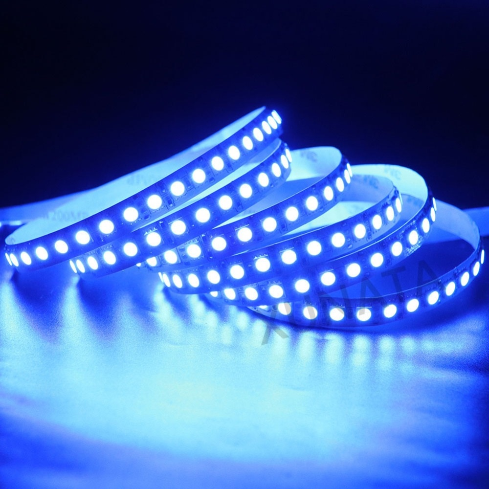 H565f42a397e740678385066c5c4978de7 - 5M LED Strip Light 5054 5050 SMD 120led 60LED 240LED 2835 5630 12V DC Waterproof Flexible LED Tape for Home Decoration 10 Colors