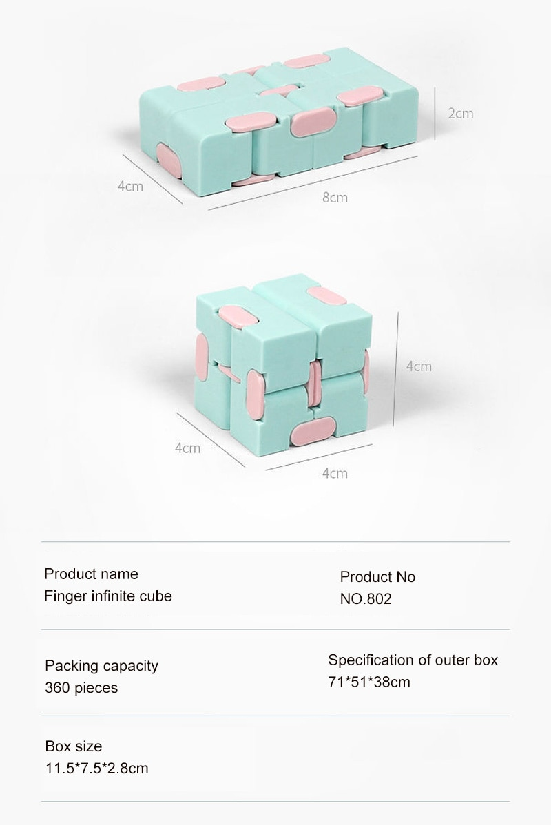 H566c0ec7108a47119b7ef095e03dc0a1j - Antistress Infinite Cube Infinity Cube Office Flip Cubic Puzzle Stress Reliever Autism Toys Relax Toy For Adults