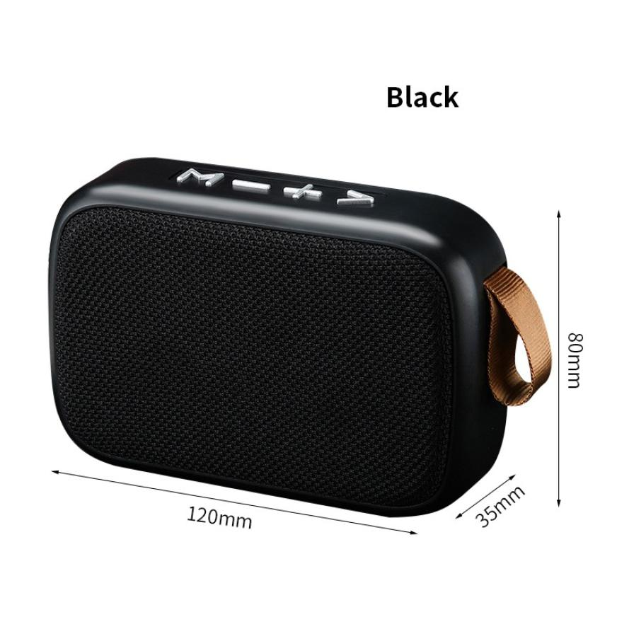 H56c343fe857346d5ae44f95de687a5f72 - G2 New Wireless Fabric Bluetooth Speaker Small Portable Cannon Mini Voice Broadcast The Card Instert Vehicular Audio System