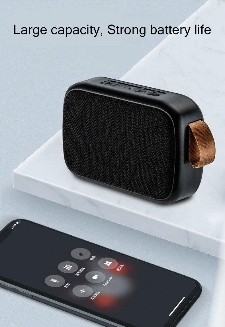 H59a4df353e4a4f96baea16a40a2f4dd48 - B02 Wireless Bluetooth Speaker Mini Subwoofer Support TF Card Small Radio Player Outdoor Portable Sports Audio Support 16GB