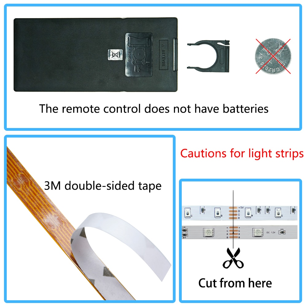 H5e0077cc5735409e819d5f02f0ccf7f5n - LED Strip Lights WIFI RGB 5050 Fita 16.4-65.6 Feet For Party Bedroom TV Computer Decoration Luces Supports Alexa Google Control