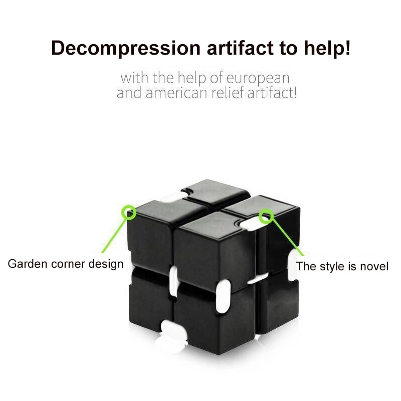H623b131797c64159bf09a41479c916d4x - Antistress Infinite Cube Infinity Cube Office Flip Cubic Puzzle Stress Reliever Autism Toys Relax Toy For Adults