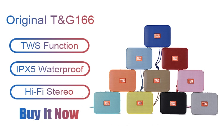 H63a1861f802341799426cf519b581e787 - Portable Bluetooth Speaker Wireless Bass Subwoofer Waterproof Outdoor Speakers Boombox AUX TF USB Stereo Loudspeaker Music Box