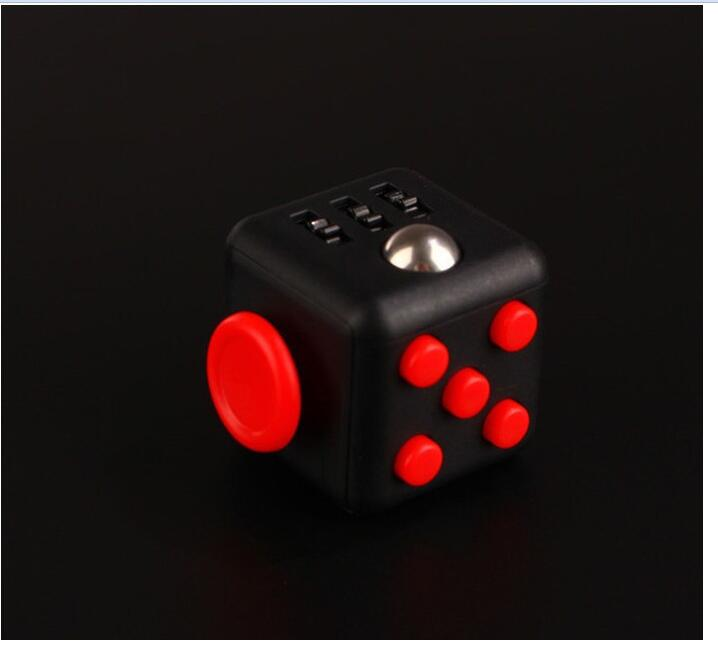 H6840de444b1249fb812dce91c296d30fv - Squeeze Stress Reliever Gifts Cube Relieves Anxiety and Stress Juguet For Adults Children cube Desk Spin Fidget Toys