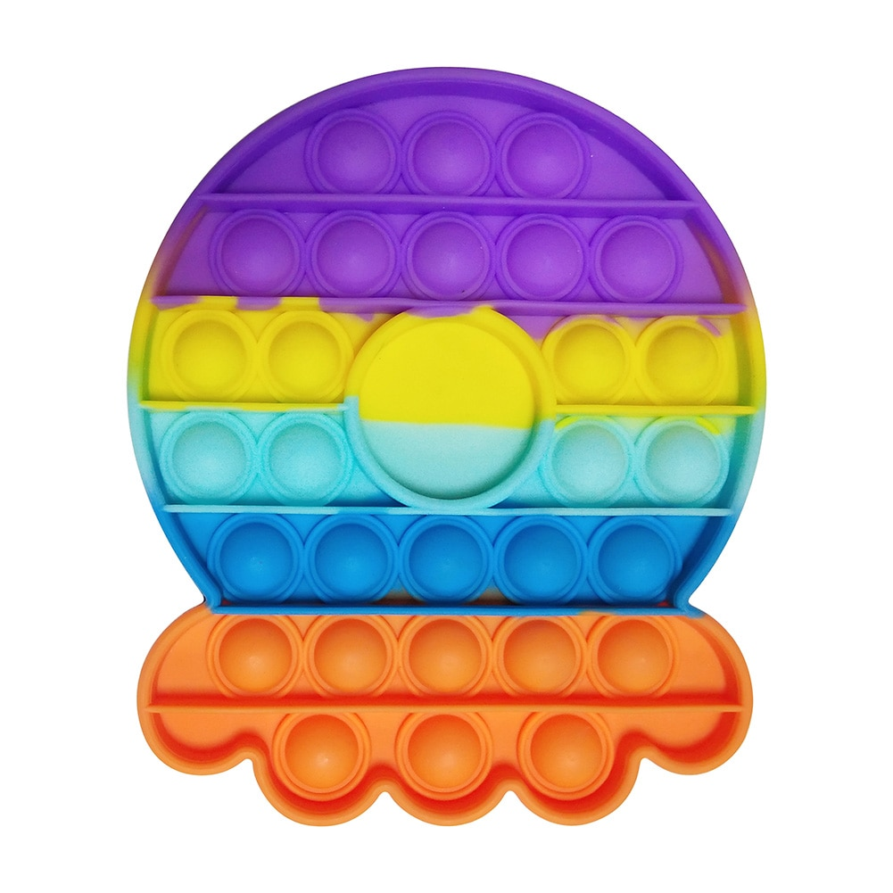 H6a3c825e96624ba29af8beff69449961Y - Rainbow Fidget Toys Push Bubble Sensory For Autism Needs Anti-stress Game Stress Relief Squishy